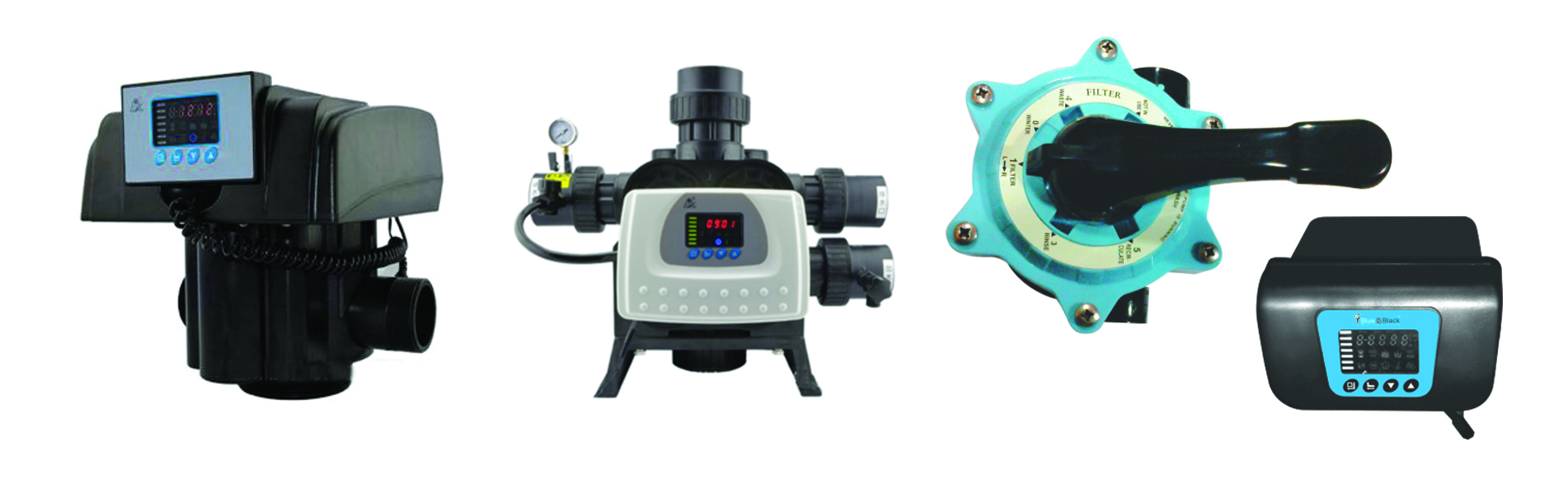 MANUAL & AUTO MULTPORT VALVES